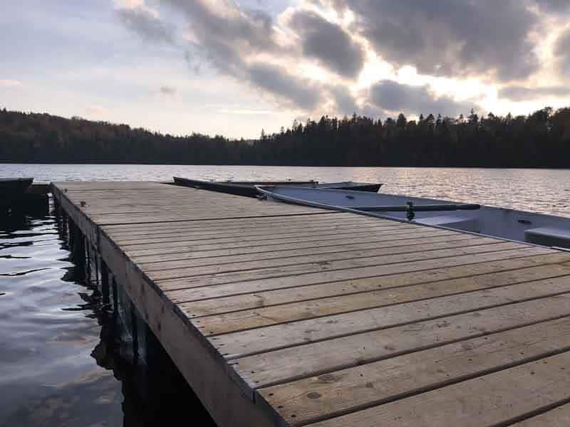 Camp 9 - Le Camp du Héron - Lac Comtois