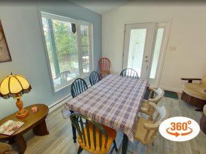 Domaine du Renard Bleu - Visite intérieure 360 - Chalet Le Mallard