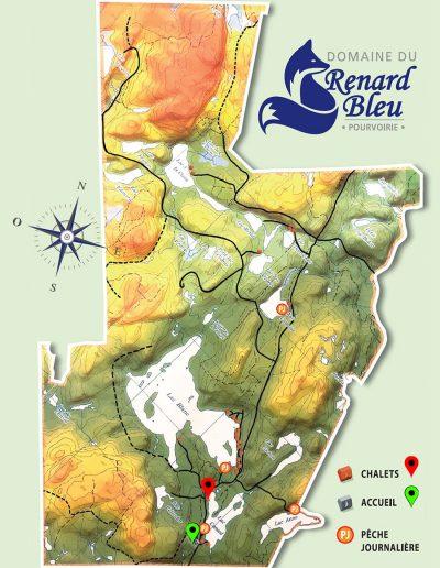 Domaine du Renard Bleu - Lac Canard - Chalet Le Huard